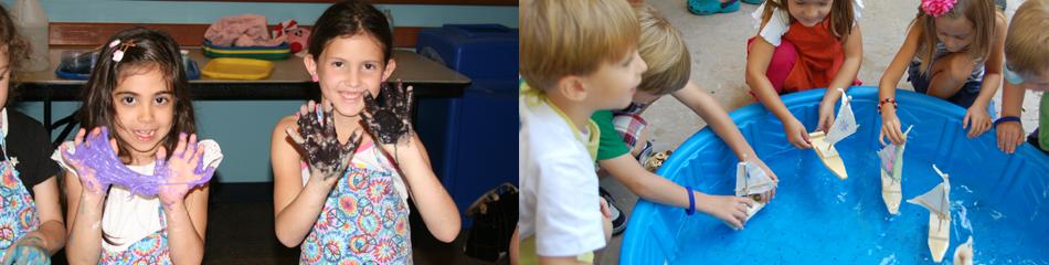 children's science explorium birthday