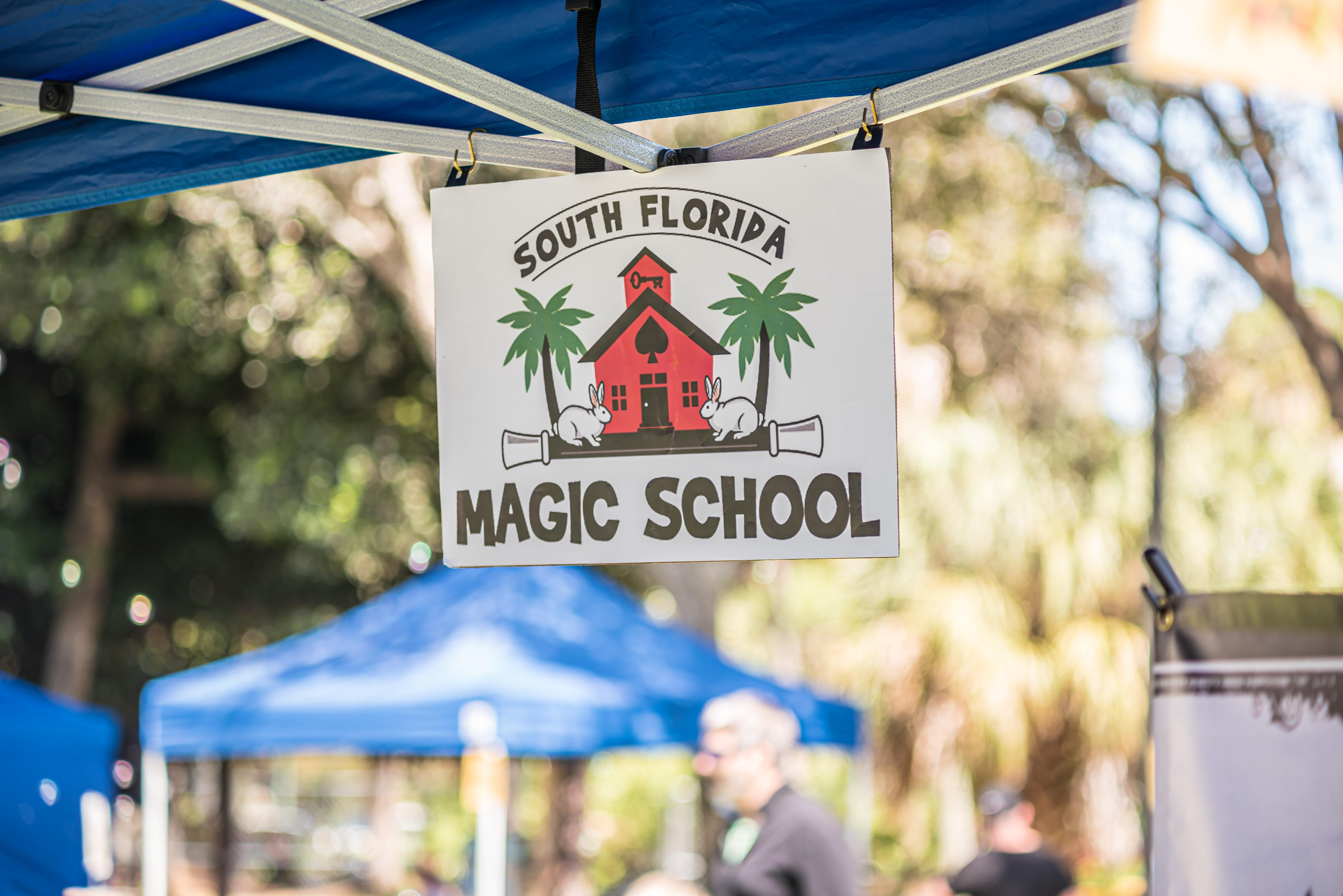 magic school booth