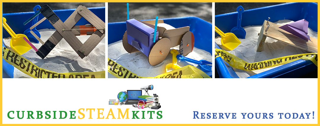 Curbside STEAM Activities for May