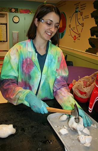 Cindy dry ice demo