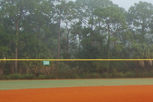 Baseball outfield