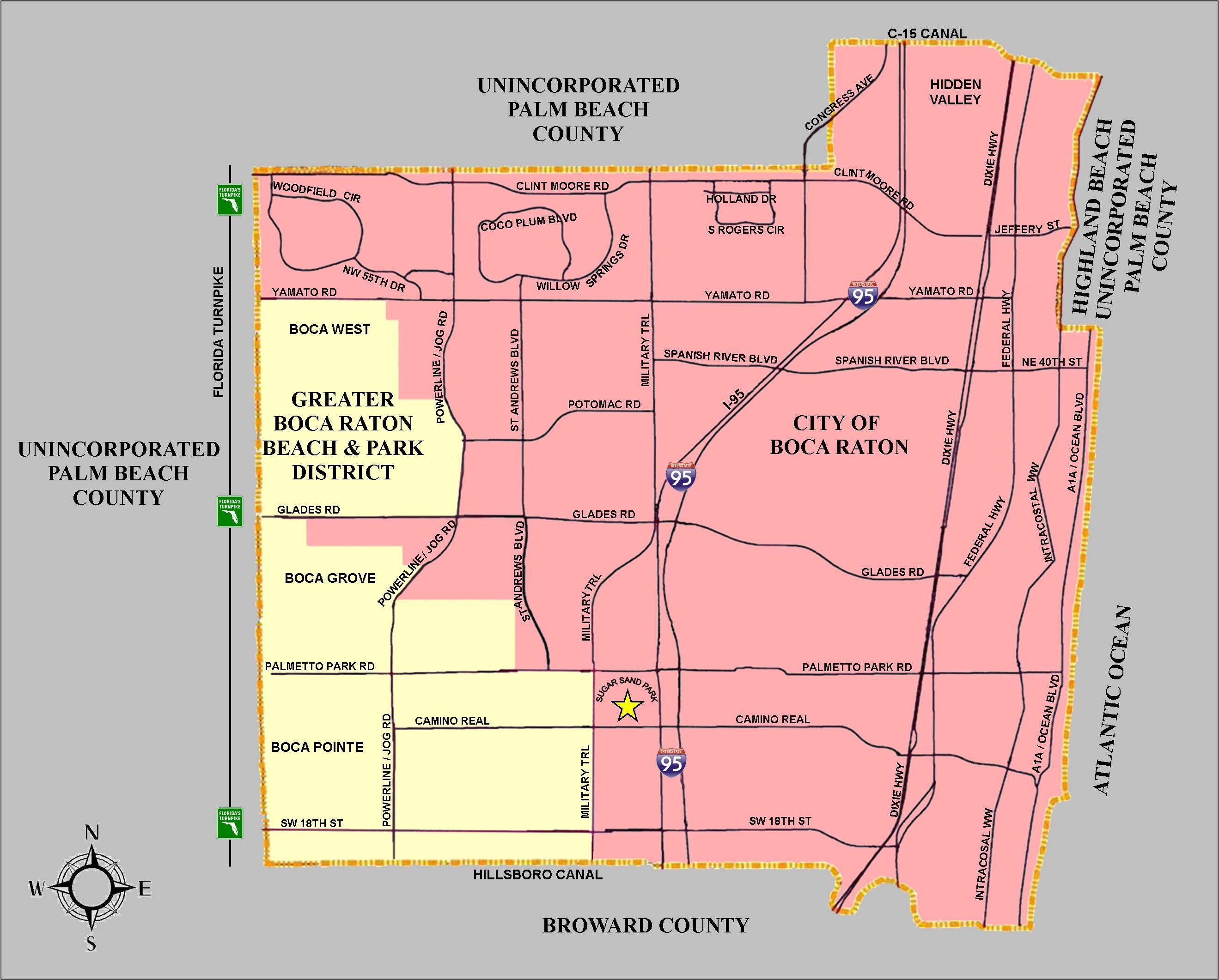 Residency map