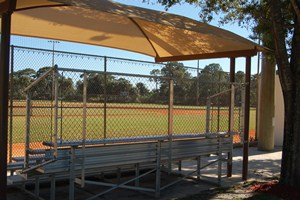 Baseball bleachers